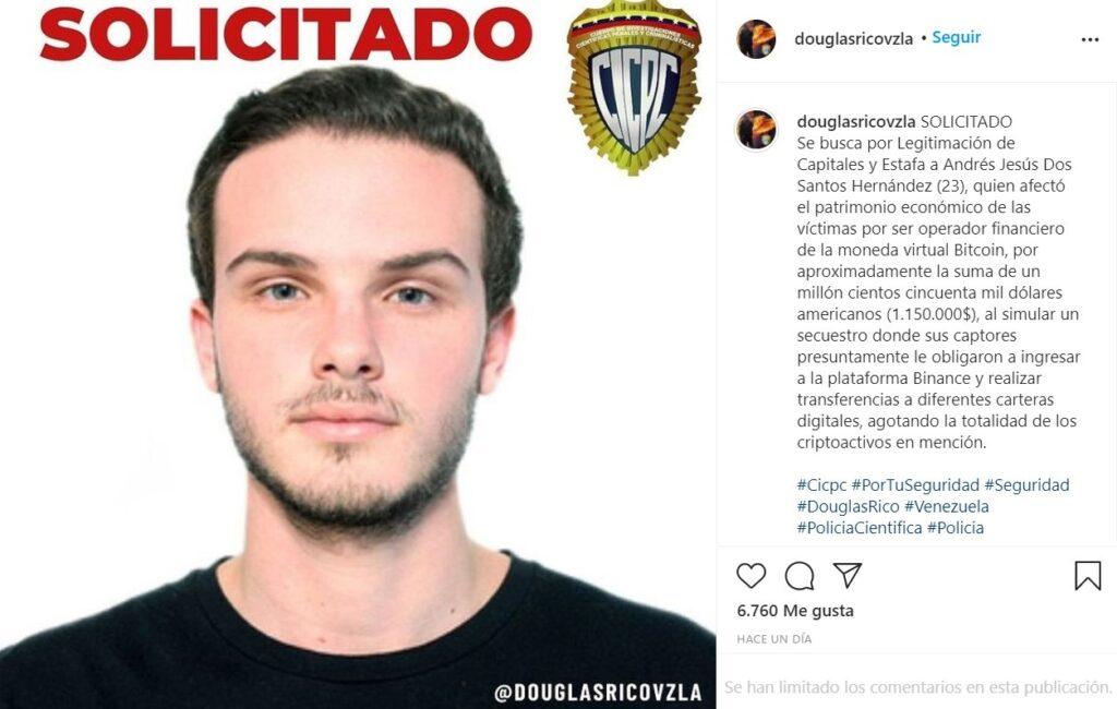 solicitado-buscado-estafador-criptomonedas-venezuela