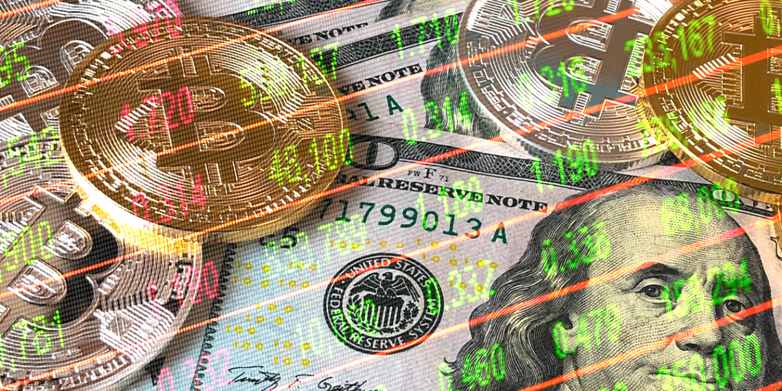 Dólar, BTC y tabla.