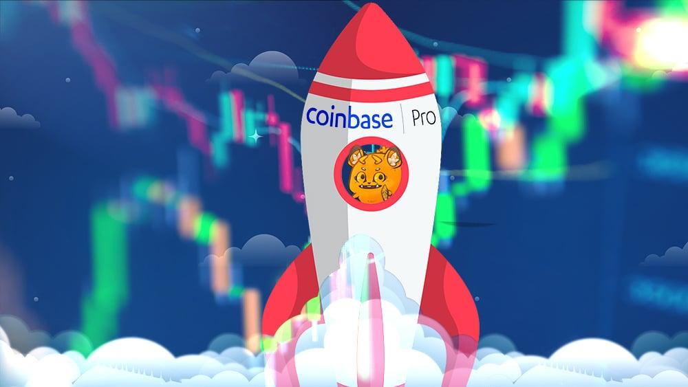 precio token axie infinity AXS listamiento Coinbase pro