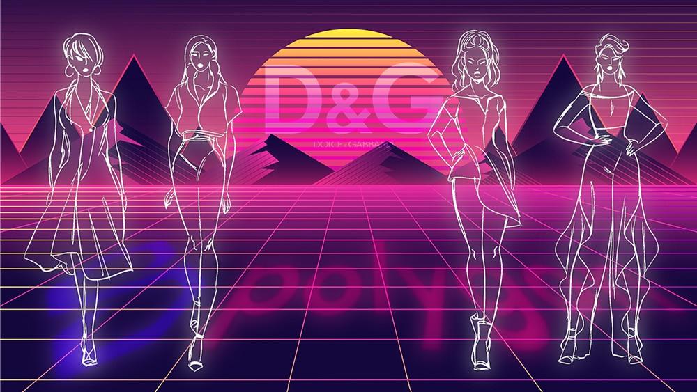 tokens nft moda dolce gabbana polygon blockchain