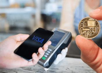 Medio de pago con visa y criptomonedas.