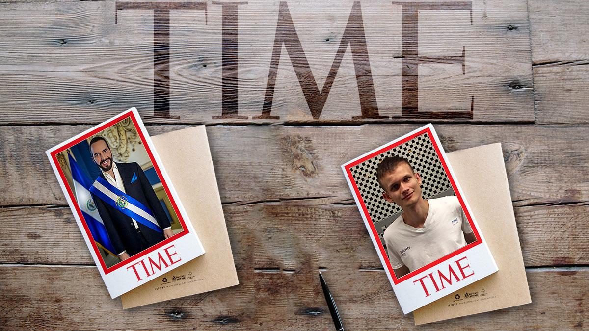 Revista Time: Vitalik Buterin y Nayib Bukele entre las 100 personas destacadas del año