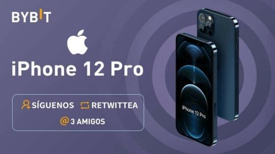 Gana un iPhone 12 Pro con Bybit en Twitter