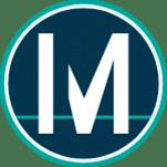 Logo de la empresa Money on Chain, Círculo con la M en medio.