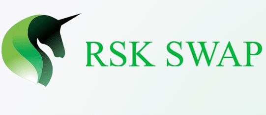Logo del Pool de Liquidez de RSK, unicornio verde con el nombre al lago