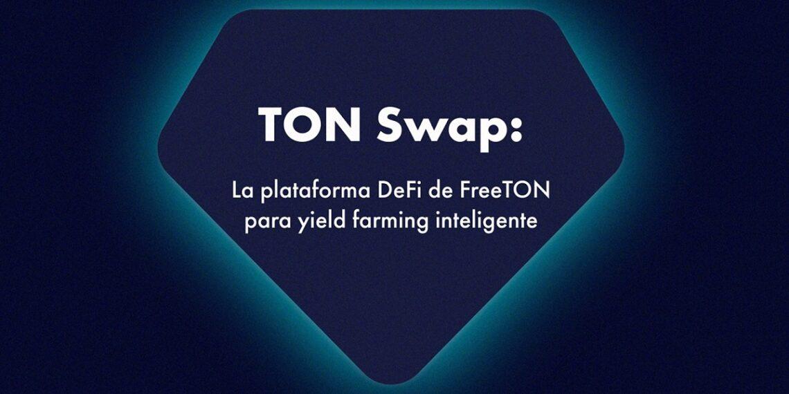 Pancarta promocional de la Plataforma DeFi TON Swap