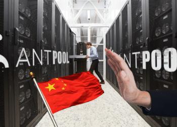 Antpool dice no a china.