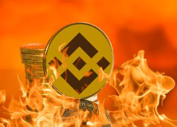 Binance en llamas.