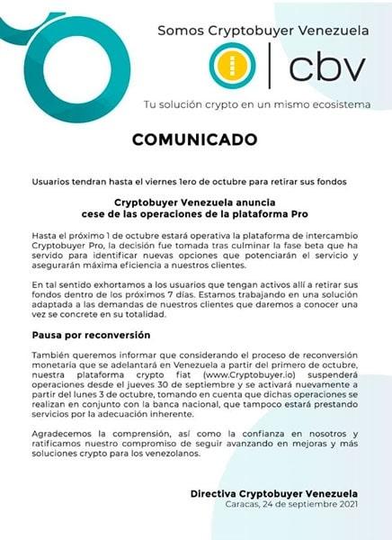 cese-operaciones-cryptobuyer-venezuela