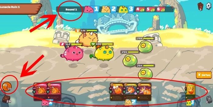Batallas en Axie Infinity - cómo jugar