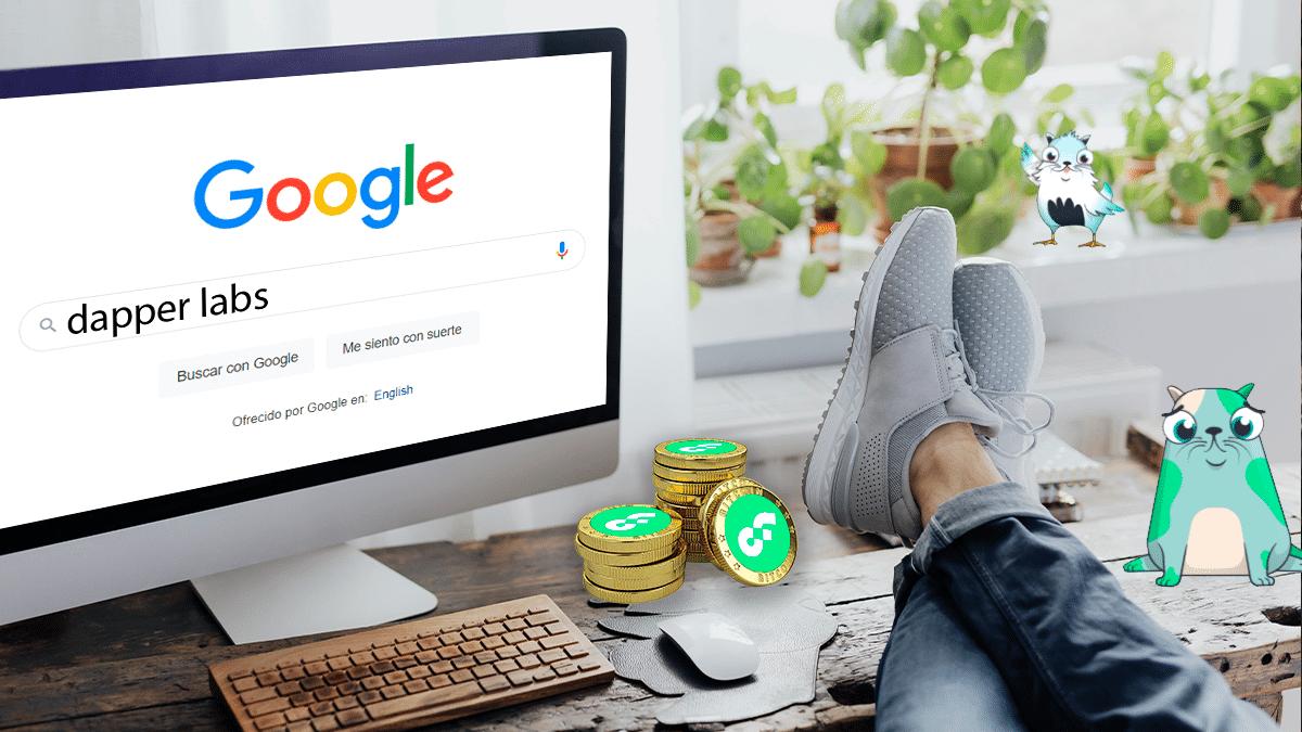 Google firma alianza con empresa de NFT y juegos blockchain, Dapper Labs