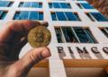 Pimco, uno de los gestores de inversiones más grandes del mundo, está interesada en bitcoin. Composición por CriptoNoticias. Fuentes:  stevanovicigor  /  elements.envato.com  ;  pimco.es .