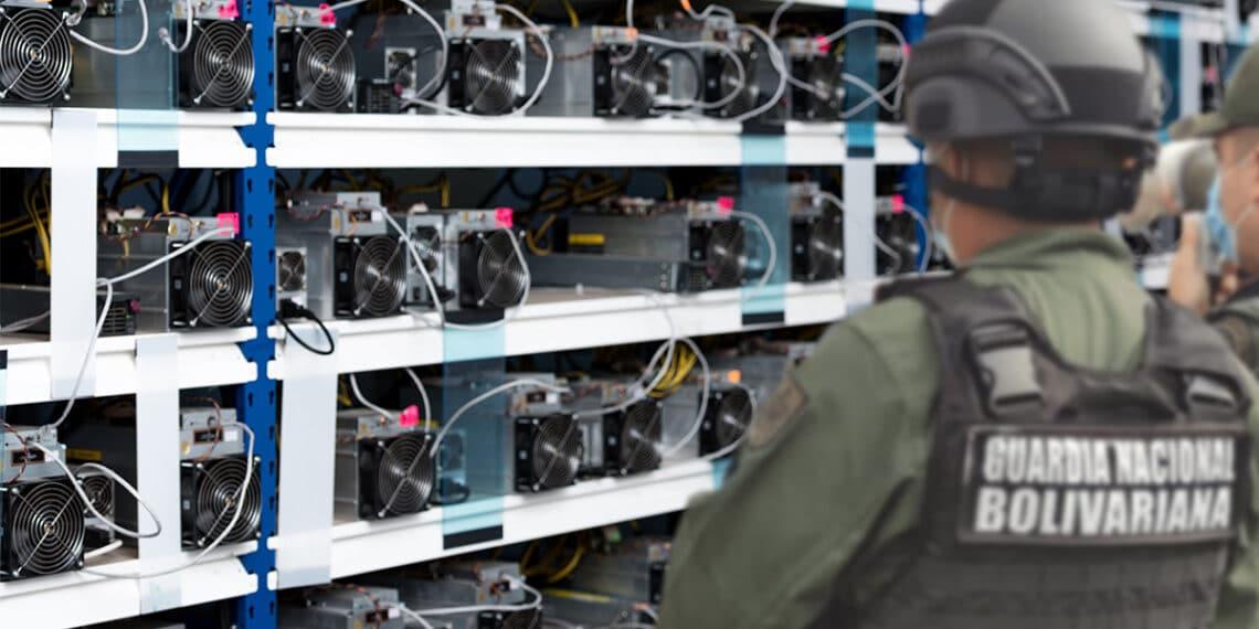 mineros-bitcoin-venezuela-sunacript-policia