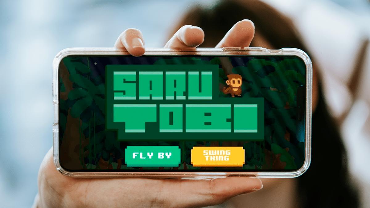 SaruTobi, juego que permite ganar bitcoin, está disponible en iOS y Android