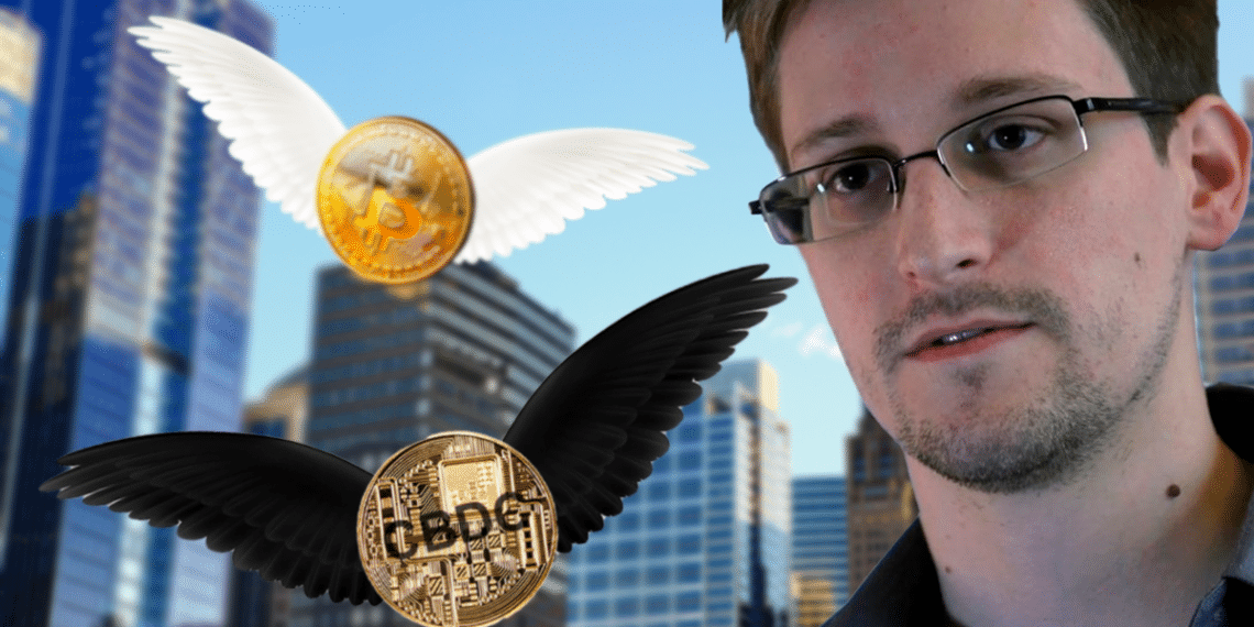 Snowden, BTC y CBDC.