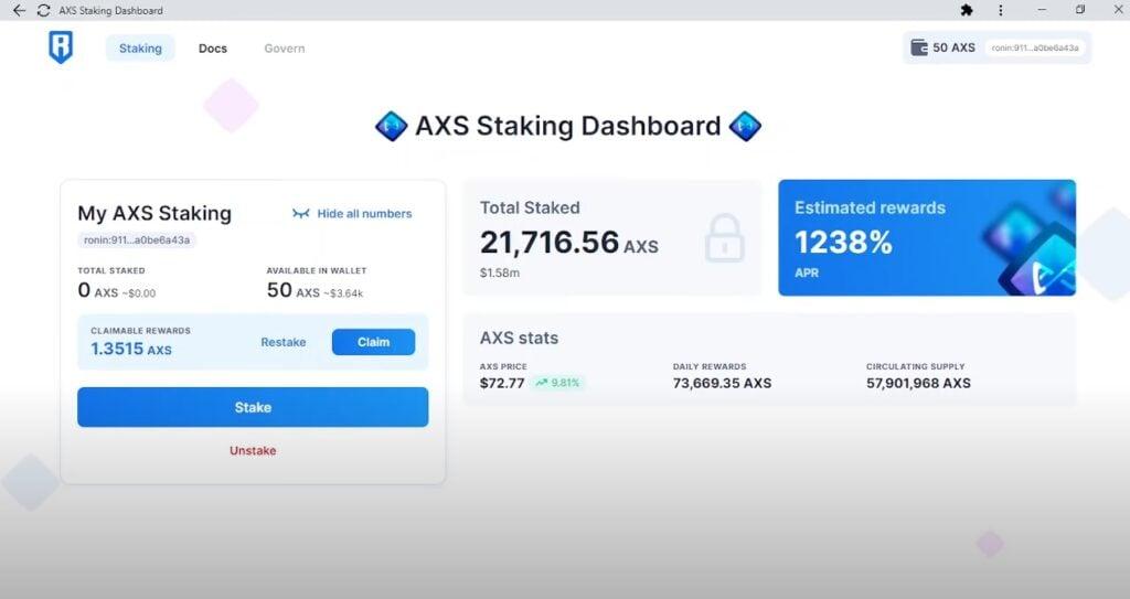 como-hacer-staking-token-criptomoneda-axie-infinity