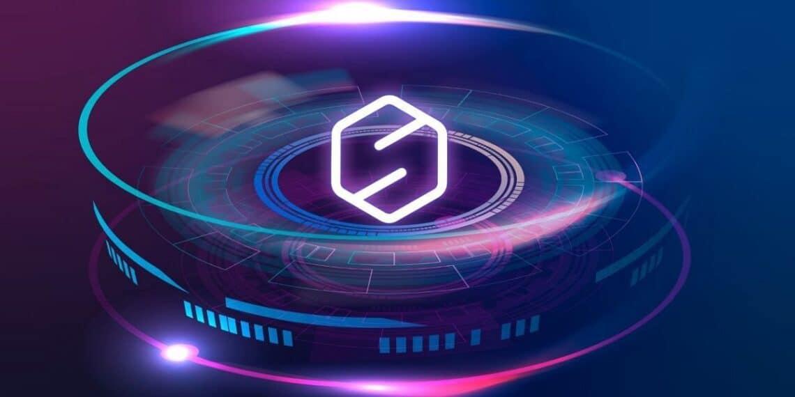 Anillos concentricos con el logo de SIGEN.pro al centro