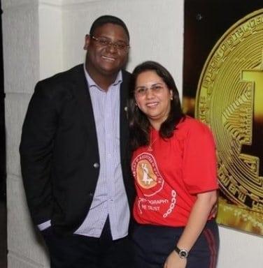 Mirelis Yoseline Días Zerpa y Glaidson Acácio Dos Santos estafadores bitcoin