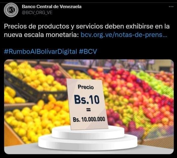 tercera-reconversion-monetaria-bolivares-veezuela