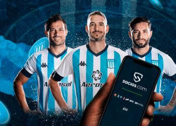 Racing y Socios.com.