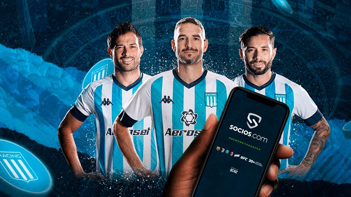 Racing Club de Argentina tendrá su fan token en Socios.com thumbnail
